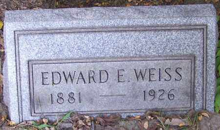 WEISS, EDWARD E. - Stark County, Ohio | EDWARD E. WEISS - Ohio Gravestone Photos