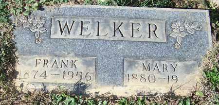 WELKER, FRANK - Stark County, Ohio | FRANK WELKER - Ohio Gravestone Photos