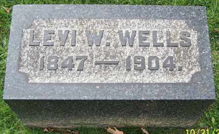 WELLS, LEVI W. - Stark County, Ohio | LEVI W. WELLS - Ohio Gravestone Photos