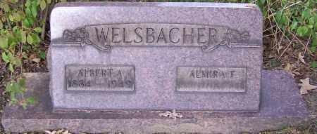 WELSBACHER, ALBERT A. - Stark County, Ohio | ALBERT A. WELSBACHER - Ohio Gravestone Photos