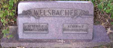WELSBACHER, ALMIRA E. - Stark County, Ohio | ALMIRA E. WELSBACHER - Ohio Gravestone Photos