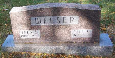WELSER, FRED C. - Stark County, Ohio | FRED C. WELSER - Ohio Gravestone Photos