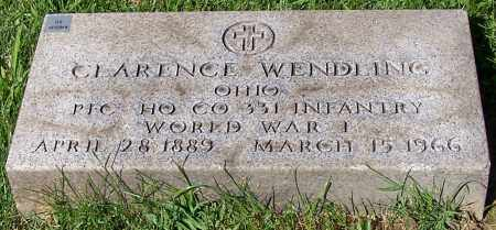 WENDLING, CLARENCE - Stark County, Ohio | CLARENCE WENDLING - Ohio Gravestone Photos