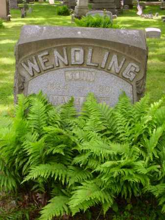 WENDLING, MARGARET - Stark County, Ohio | MARGARET WENDLING - Ohio Gravestone Photos