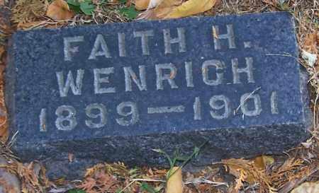 WENRICH, FAITH H. - Stark County, Ohio | FAITH H. WENRICH - Ohio Gravestone Photos