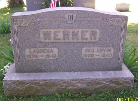 WERNER, LAURENA - Stark County, Ohio | LAURENA WERNER - Ohio Gravestone Photos