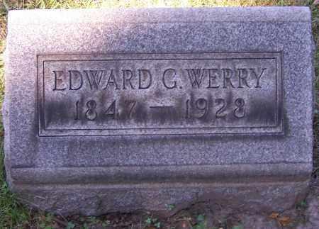 WERRY, EDWARD G. - Stark County, Ohio | EDWARD G. WERRY - Ohio Gravestone Photos