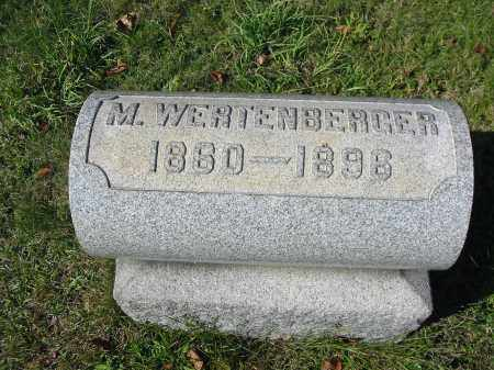 WERTENBERGER, MARTIN - Stark County, Ohio | MARTIN WERTENBERGER - Ohio Gravestone Photos