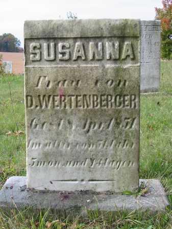 WERTENBERGER, SUSANNA - Stark County, Ohio | SUSANNA WERTENBERGER - Ohio Gravestone Photos