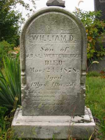 WERTENBERGER, WILLIAM D - Stark County, Ohio | WILLIAM D WERTENBERGER - Ohio Gravestone Photos
