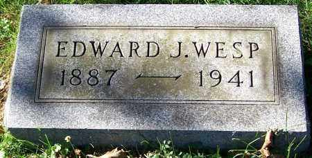 WESP, EDWARD J. - Stark County, Ohio | EDWARD J. WESP - Ohio Gravestone Photos