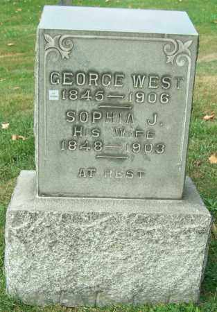 WEST, GEORGE - Stark County, Ohio | GEORGE WEST - Ohio Gravestone Photos