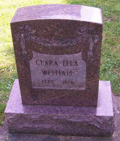 WESTFALL, CLARA ELLA - Stark County, Ohio | CLARA ELLA WESTFALL - Ohio Gravestone Photos