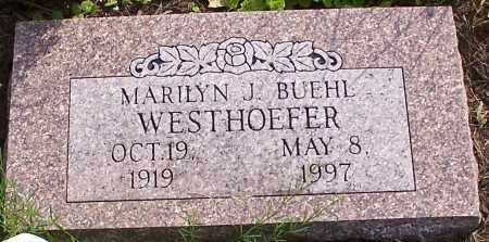 WESTHOEFER, MARILYN J. BUEHL - Stark County, Ohio | MARILYN J. BUEHL WESTHOEFER - Ohio Gravestone Photos
