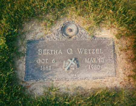 BALDWIN WETZEK, BERTHA OLEVIA - Stark County, Ohio | BERTHA OLEVIA BALDWIN WETZEK - Ohio Gravestone Photos