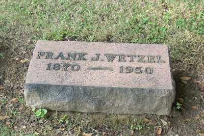 WETZEL, FRANK J. - Stark County, Ohio | FRANK J. WETZEL - Ohio Gravestone Photos