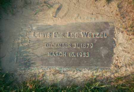 WETZEL, LEWIS PER LEE - Stark County, Ohio | LEWIS PER LEE WETZEL - Ohio Gravestone Photos