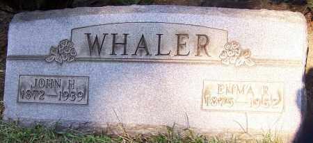 WHALER, JOHN H. - Stark County, Ohio | JOHN H. WHALER - Ohio Gravestone Photos