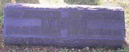 ROWLAND WHALER, MARIA ROWLAND - Stark County, Ohio | MARIA ROWLAND ROWLAND WHALER - Ohio Gravestone Photos