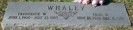 WHALEY, FREDERICK W. - Stark County, Ohio | FREDERICK W. WHALEY - Ohio Gravestone Photos