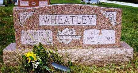 WHEATLEY, FRANCIS J. - Stark County, Ohio | FRANCIS J. WHEATLEY - Ohio Gravestone Photos