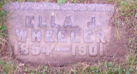 WHEELER, ELLA J. - Stark County, Ohio | ELLA J. WHEELER - Ohio Gravestone Photos