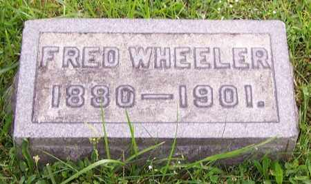 WHEELER, FRED - Stark County, Ohio | FRED WHEELER - Ohio Gravestone Photos
