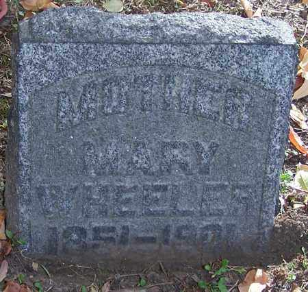 WHEELER, MARY - Stark County, Ohio | MARY WHEELER - Ohio Gravestone Photos