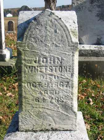 WHETSTONE, JOHN - Stark County, Ohio | JOHN WHETSTONE - Ohio Gravestone Photos