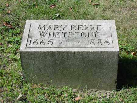 WHETSTONE, MARY BELLE - Stark County, Ohio | MARY BELLE WHETSTONE - Ohio Gravestone Photos