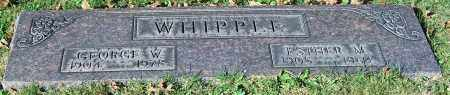 WHIPPLE, GEORGE W. - Stark County, Ohio | GEORGE W. WHIPPLE - Ohio Gravestone Photos