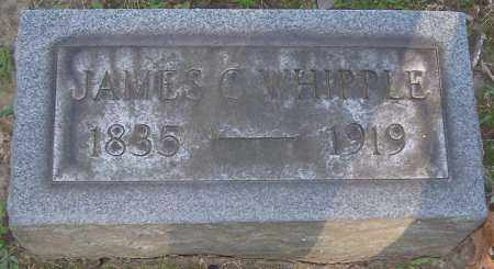 WHIPPLE, JAMES C. - Stark County, Ohio | JAMES C. WHIPPLE - Ohio Gravestone Photos