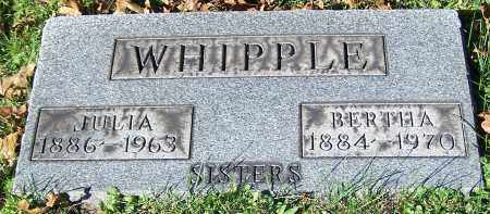 WHIPPLE, JULIA - Stark County, Ohio | JULIA WHIPPLE - Ohio Gravestone Photos