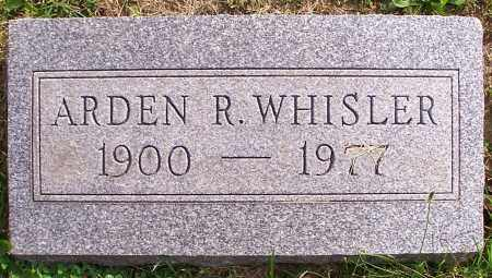 WHISLER, ARDEN R. - Stark County, Ohio | ARDEN R. WHISLER - Ohio Gravestone Photos