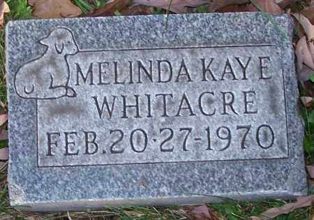 WHITACRE, MELINDA KAYE - Stark County, Ohio | MELINDA KAYE WHITACRE - Ohio Gravestone Photos