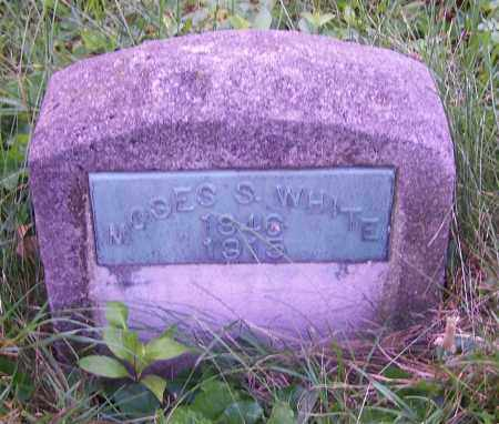 WHITE, MOSES S. - Stark County, Ohio | MOSES S. WHITE - Ohio Gravestone Photos