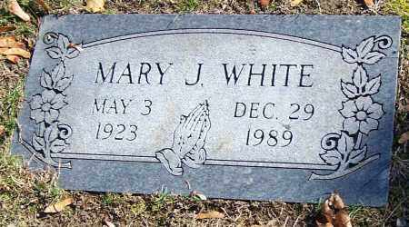 WHITE, MARY J. - Stark County, Ohio | MARY J. WHITE - Ohio Gravestone Photos
