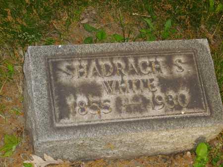 WHITE, SHADRACH S. - Stark County, Ohio | SHADRACH S. WHITE - Ohio Gravestone Photos