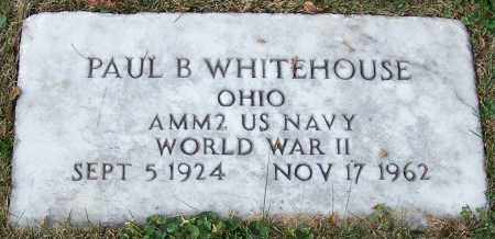 WHITEHOUSE, PAUL B. - Stark County, Ohio | PAUL B. WHITEHOUSE - Ohio Gravestone Photos