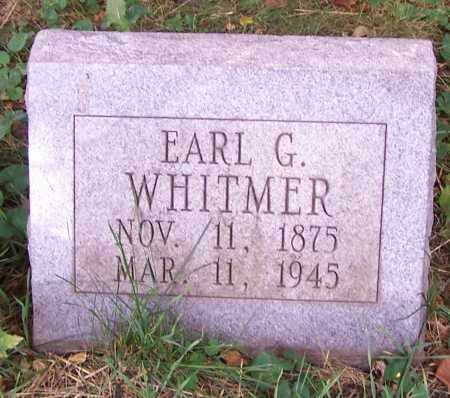 WHITMER, EARL G. - Stark County, Ohio | EARL G. WHITMER - Ohio Gravestone Photos