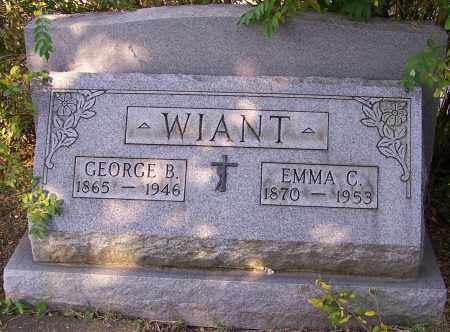 WIANT, EMMA C. - Stark County, Ohio | EMMA C. WIANT - Ohio Gravestone Photos
