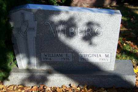 WIBERG, WILLIAM E. - Stark County, Ohio | WILLIAM E. WIBERG - Ohio Gravestone Photos