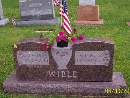 WIBLE, CHARLES E. - Stark County, Ohio | CHARLES E. WIBLE - Ohio Gravestone Photos