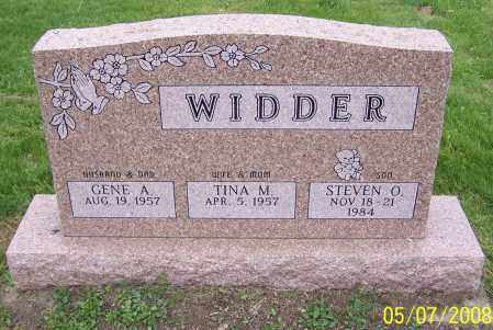 WIDDER, GENE A. - Stark County, Ohio | GENE A. WIDDER - Ohio Gravestone Photos