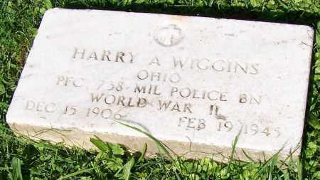 WIGGINS, HARRY A. - Stark County, Ohio | HARRY A. WIGGINS - Ohio Gravestone Photos