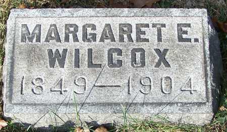 WILCOX, MARGARET E. - Stark County, Ohio | MARGARET E. WILCOX - Ohio Gravestone Photos