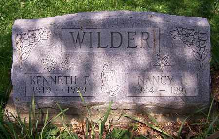 WILDER, KENNETH F. - Stark County, Ohio | KENNETH F. WILDER - Ohio Gravestone Photos
