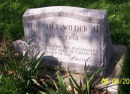 WILDER, KENNETH F.  (JR) - Stark County, Ohio | KENNETH F.  (JR) WILDER - Ohio Gravestone Photos