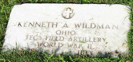 WILDMAN, KENNETH A. - Stark County, Ohio | KENNETH A. WILDMAN - Ohio Gravestone Photos