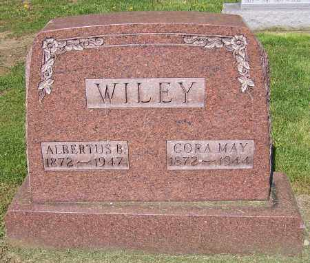 WILEY, CORA MAY - Stark County, Ohio | CORA MAY WILEY - Ohio Gravestone Photos